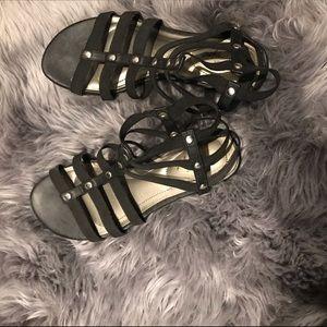Black DexFlex Comfort Sandals!!